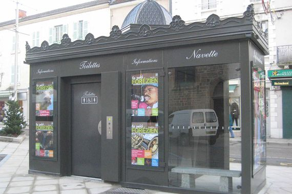 kiosque composite