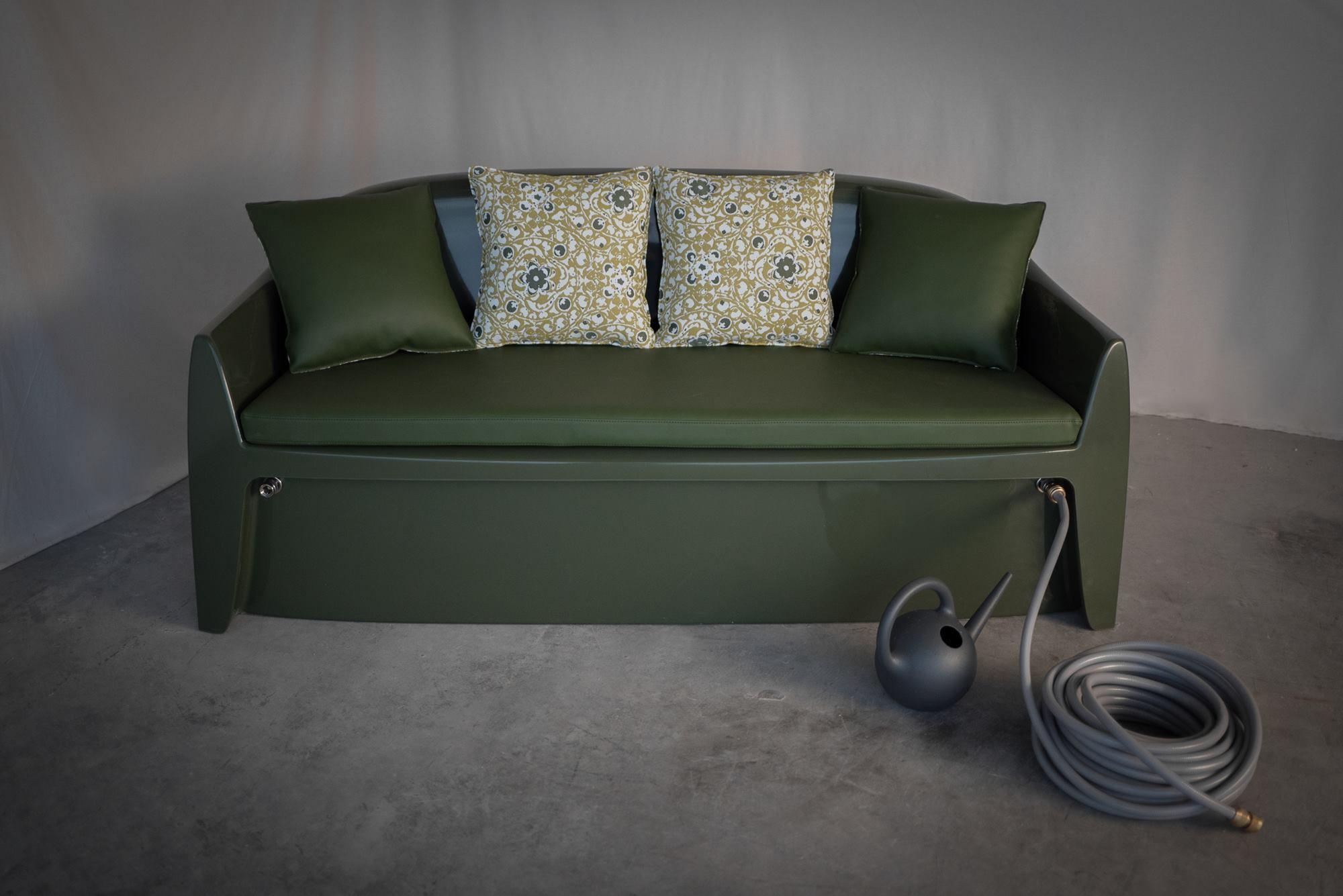 canapé extérieur en composite marque Rainbeau